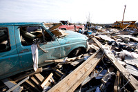 Tornado destruction in East Bernstadt, Kentucky, where several people died